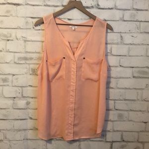 Maurices tank with pockets